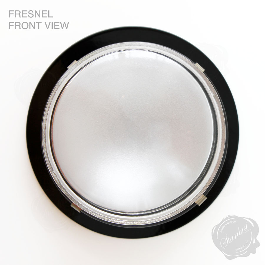 Fresnel Wet Location Flush Mounted Modern Ceiling Light