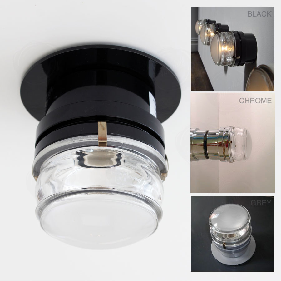ul wet location listed wall and ceiling fresnel light fixture  - ul wet location listed wall and ceiling fresnel light fixture
