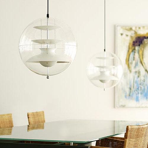 Verpan Panto Modern Pendant Lighting By Verner Panton