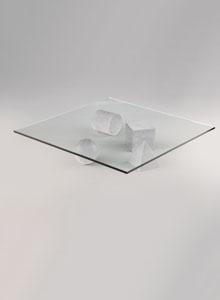 Martinelli Luce Vignelli Metaforma Coffee Table Stardust