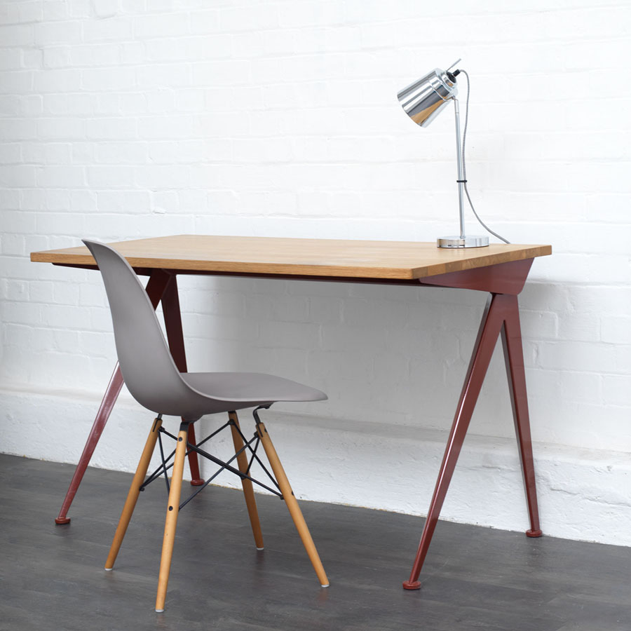 Vitra Compas Direction Desk By Jean Prouve