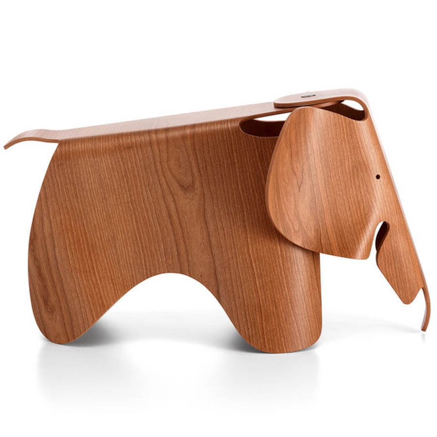 Eames Original 31 Elephant In Plywood In American Cherry