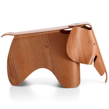 "Eames® Original 31"" Elephant in Plywood in American Cherry ..."