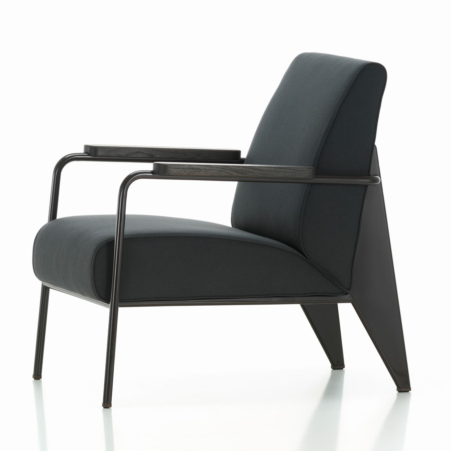 Fauteuil de Salon Jean Prouvé modern French living room chair Vitra