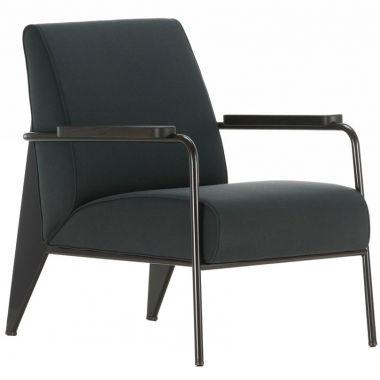 Fauteuil de salon jean prouv modern french living room chair vitra for Fauteuil ergonomique de salon