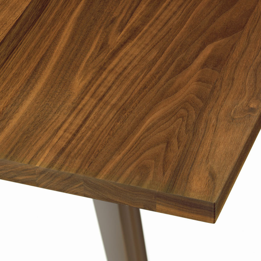 prouve® em table solid american walnut  vitra em walnut tables - vitra em table solid american walnut