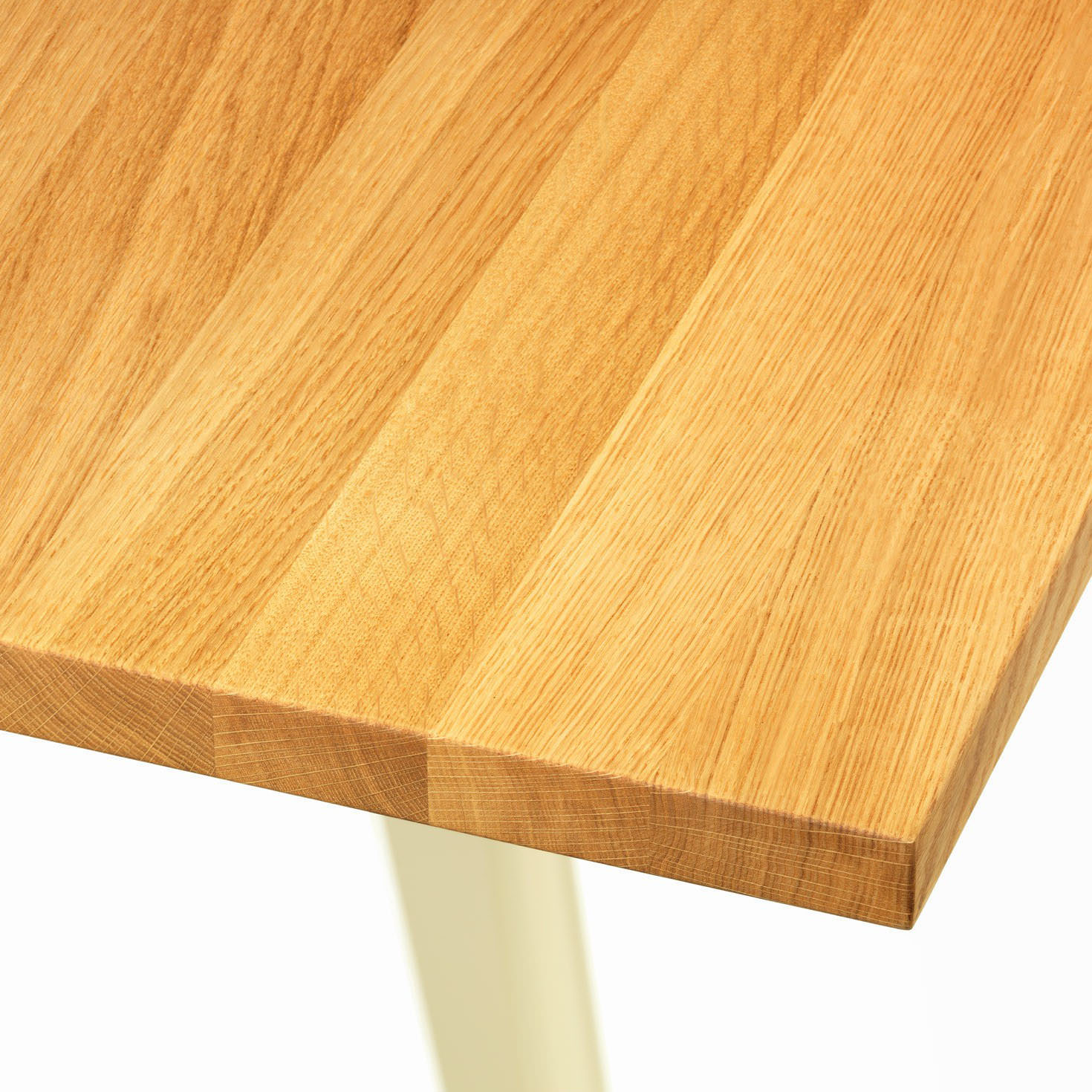 Vitra Em Table By Jean Prouve In Solid Natural Oak Oak Em Tables