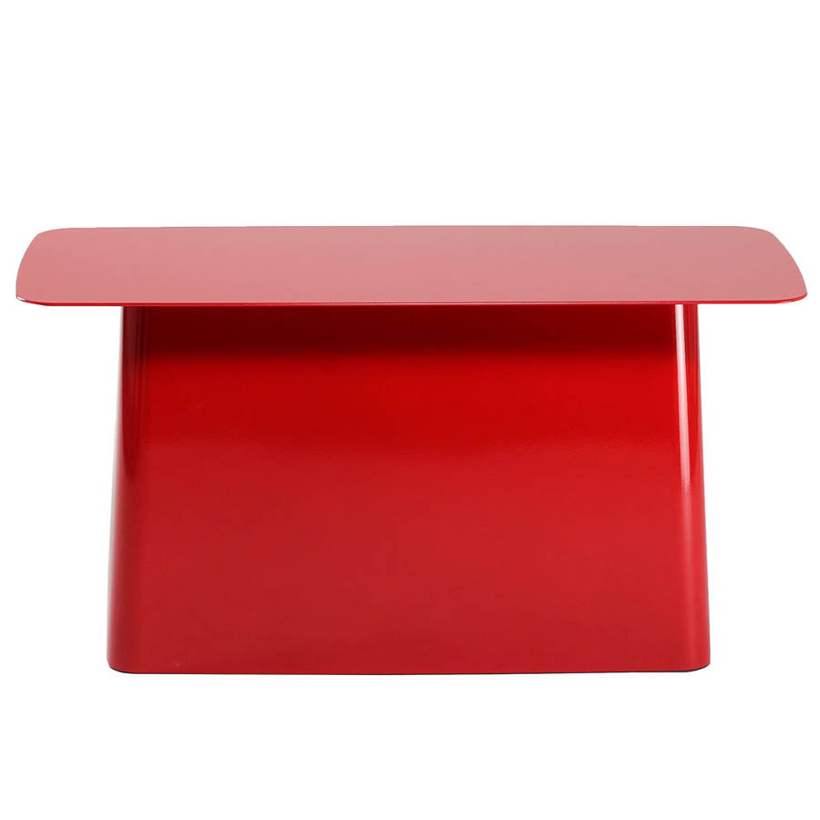 Lovely Vitra Metal Side Table Large By Bouroullec