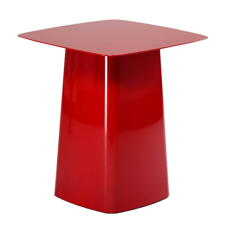 Vitra metal side table