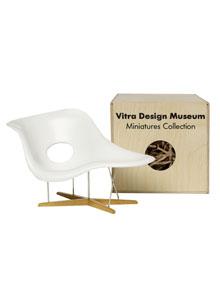 Vitra Miniatures La Chaise Open Box Floor Sample Sale Stardust