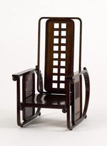 Josef Hoffmann No 670 Sitzmaschine Vitra Miniature Chair