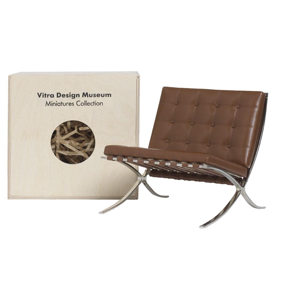 vitra miniatures barcelona chair open box floor sample sale stardust. Black Bedroom Furniture Sets. Home Design Ideas