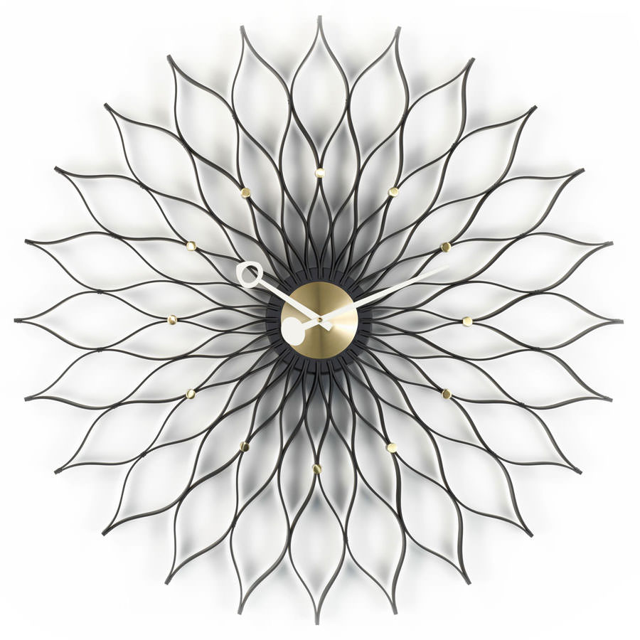 Delightful Vitra Nelson Sunflower Wall Clock ... Nice Ideas