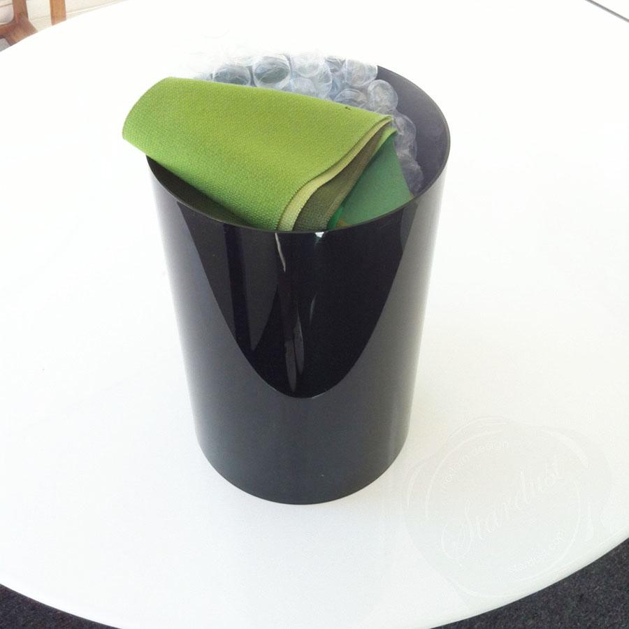 Waste Baskets Captivating Kartell Waste Basket  Paper Bin 4670® Waste Baskets Decorating Inspiration