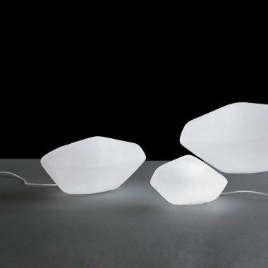 Stone Pebble Lamp Stardust