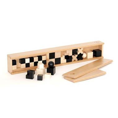 Naef bauhaus solid wood 32 piece chess set quality chess gift set - Bauhaus chess board ...