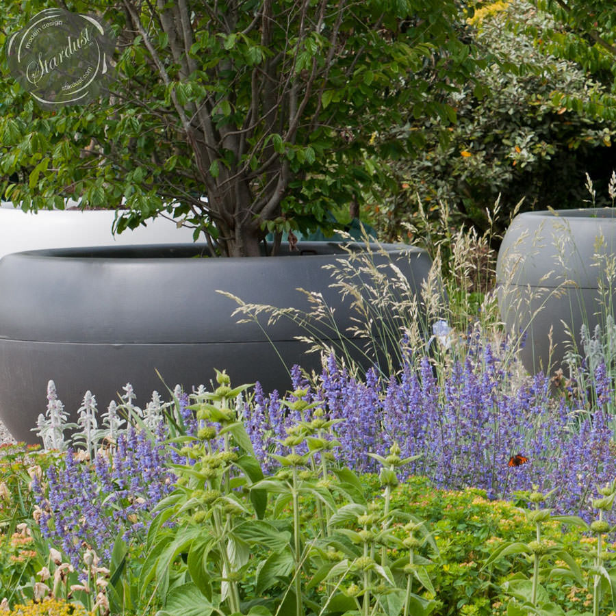 Xxl Commercial Planter Extra Large Round Planter Box