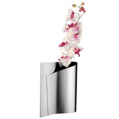 E Li Li Decorative Lily Shaped Flower Vase In Steel By Alessi Stardust