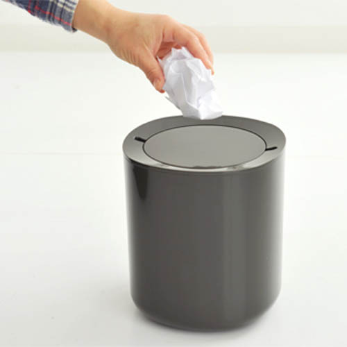 Incroyable Alessi Birillo Waste Bin With Lid For Bathrooms