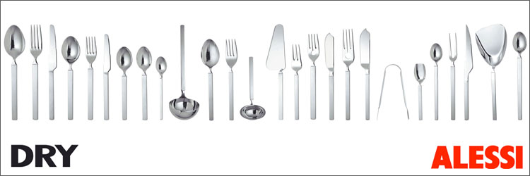 alessi dry flatware and silverware