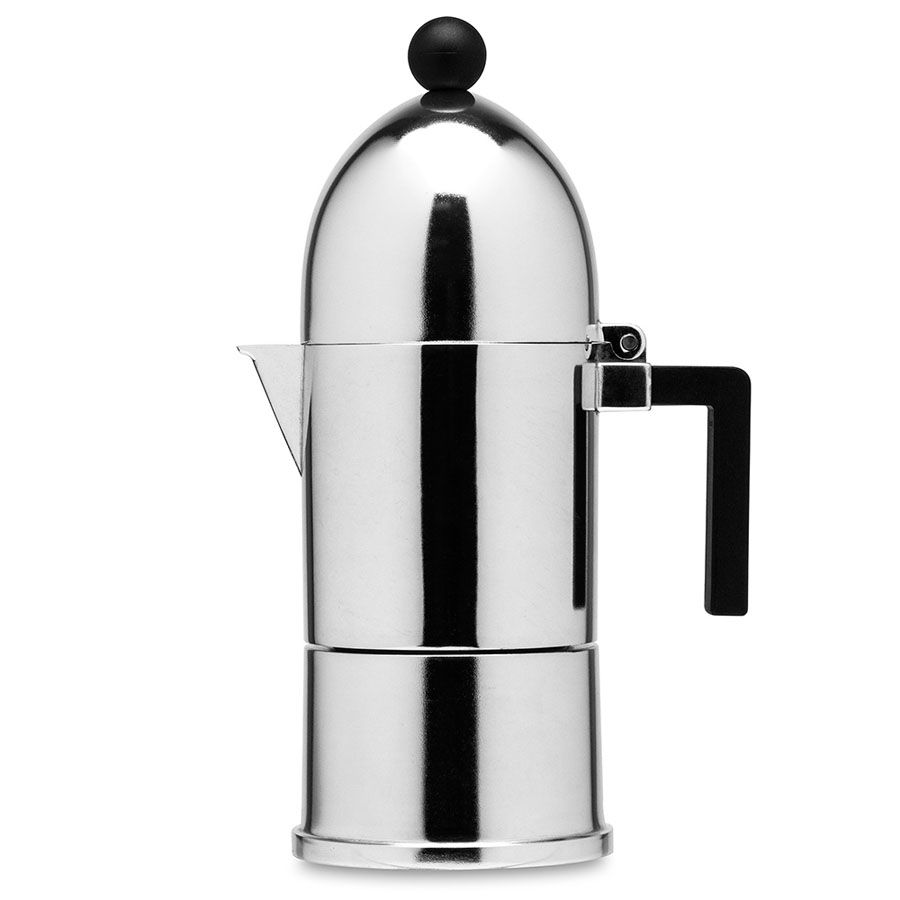 Superb Alessi 9095 Italian La Cupola Moka Coffee Stovetop Espresso Kettle Photo Gallery