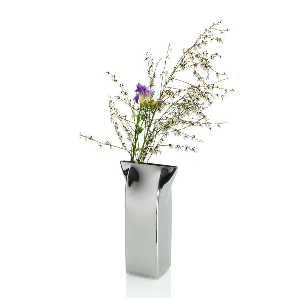 Alessi pinch milk carton vase stainless steel stardust alessi pinch milk carton vase reviewsmspy