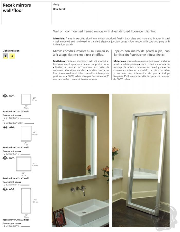 Mirror Bathroom LED Wall Mirror Bathroom Mirror with LED Light