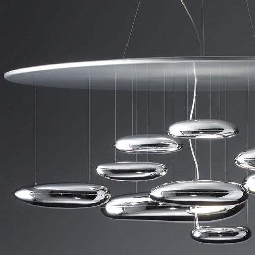 Artemide Mercury Suspension Lamp By Ross Lovegrove