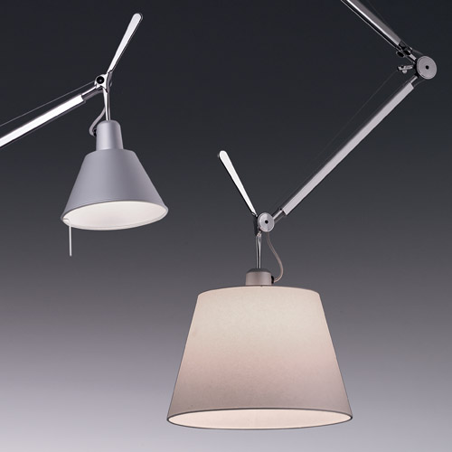 Artemide Tolomeo Off-Center Ceiling Mounted Lamp