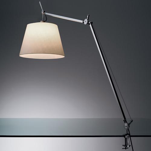 Artemide Tolomeo Mega Table Lamp With Clip, Tolomeo Table Lamp With Clamp