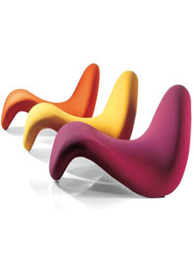 Artifort tongue chaise lounge chair by pierre paulin for Artifort chaise lounge
