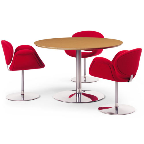 Simple elegant kitchen design - Artifort Little Tulip Arm Chair By Pierre Paulin Stardust
