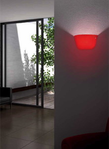 Leucos Ayers P 38 Wall Lamp by Marco Piva
