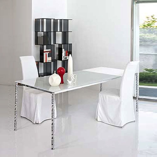 bonaldo ballerina l modern dining chair by james bronte