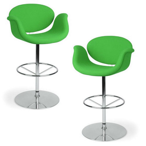 Artifort Little Tulip Bar Stool By Pierre Paulin Stardust