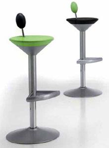 B Line Manhattan Martini Glass Modern Bar Stool ...