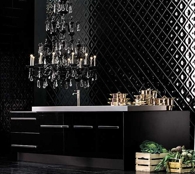 barovier and toso taif chandelier black