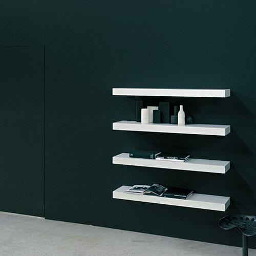 Modern Wall Mounted Shelves glas italia bau mensole wall mounted shelvesprospero rasulo