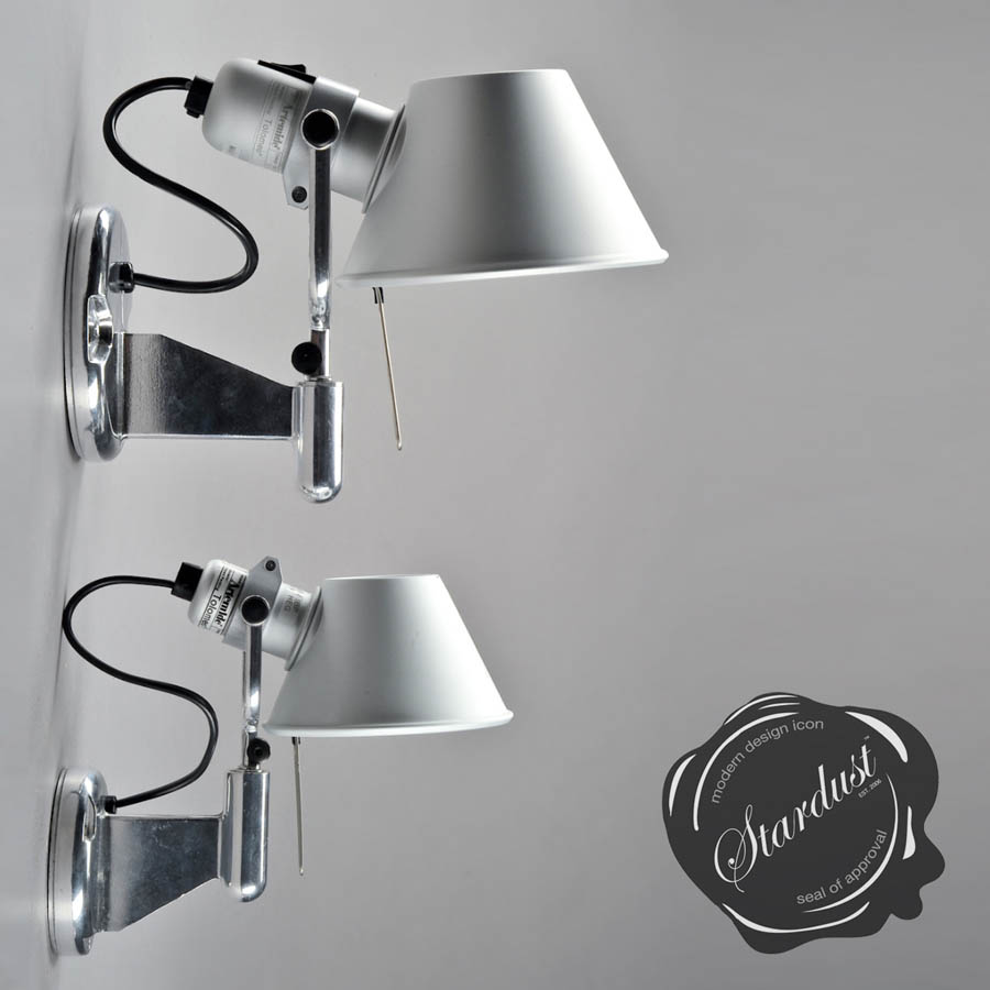 artemide tolomeo wall spot light classic - Bedroom Wall Reading Lights