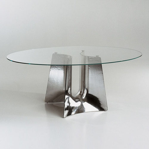 Cerruti Baleri Bentz Modern Oval Dining Table