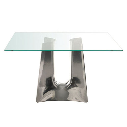 Cerruti Baleri Bentz Modern Square Dining Table