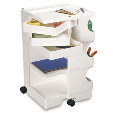 Boby 174 Rolling 3 Drawer Mobile Organizer
