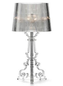 Bourgie Table Lamp By Kartell   Transparent Acrylic   Sale ...