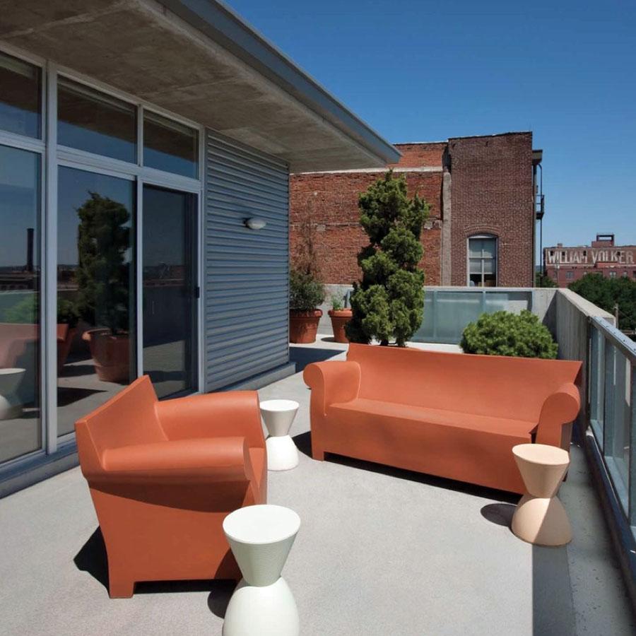 Kartell Bubble Club Modern Outdoor Sofa ...
