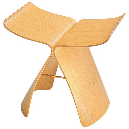 sori yanagi butterfly stool vitra. Black Bedroom Furniture Sets. Home Design Ideas