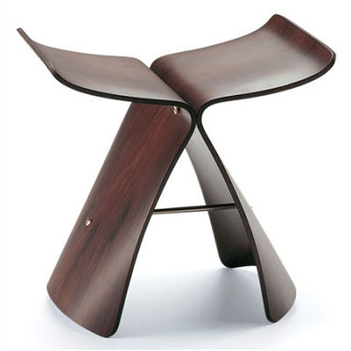 vitra miniature butterfly stool by sori yanagi stardust. Black Bedroom Furniture Sets. Home Design Ideas