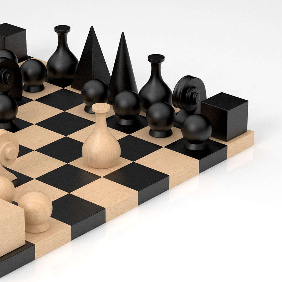 man ray  piece chess figure set for sale - man ray chess pieces