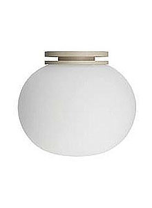 Flos Glo-Ball CW Zero Modern Ceiling/Wall Light by Jasper Morrison