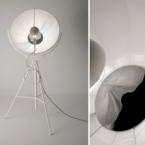 Pallucco Fortuny Classic White Stage Light Floor Lamp | Stardust