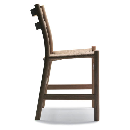 hans wegner ch47 modern chair with oak frame